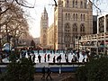 Busy ice rink at the Natural History Museum - geograph.org.uk - 637143.jpg