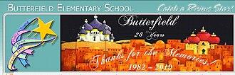 Butterfield Elementary School (Lake Elsinore, California) - Image: Butterfield Elementary farewell