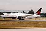 C-GHPQ Air Canada Boeing 787-8 Dreamliner coming in from Montreal (YUL) @ Frankfurt (FRA) - 17.07.2017 (35936863936).jpg