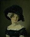 C.A. Jensen - Mathilde Theresia von Irgens-Bergh, née Holsten, the Wife of Mathias Friis von Irgens-Bergh - KMS1339 - Statens Museum for Kunst.jpg