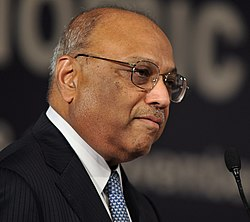 C. K. Prahalad 8. marraskuuta 2009 World Economic Forumin India Economic Summit 2009:ssa.