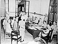 COLLECTIE TROPENMUSEUM Japanse oorlogsmisdadigers voor de krijgsraad te Makassar TMnr 10001539.jpg