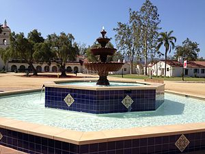 California State University Channel Islands - Central Mall Fountain
