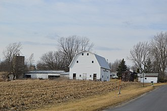 Middletown, Champaign County, Ohio - Farm on Middletown's southern edge