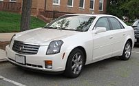 2003-2007 Cadillac CTS photographed in USA.