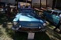 Cadillac El Dorado 1957 Biarritz Convertible AboveHood Lake Mirror Cassic 16Oct2010 (14874271071).jpg