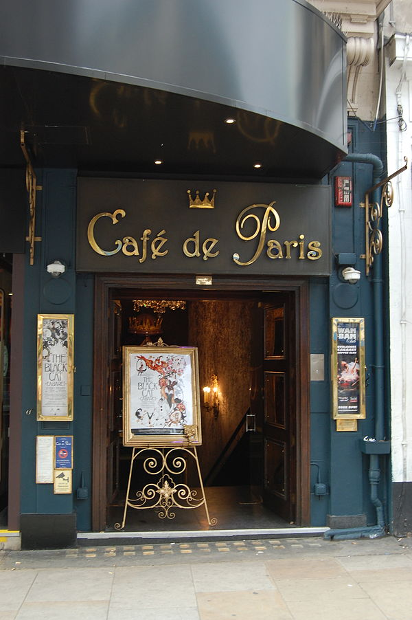Cafe De Paris Club Leicester Square