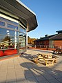 Cafe and terrace, Innovation Centre phase II, University of Exeter - geograph.org.uk - 1040729.jpg