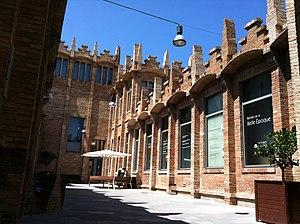 CaixaForum Barcelona - Image: Caixa Forum Barcelona passadís interior