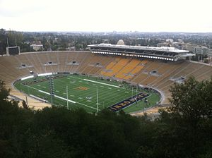 California Memorial Stadium - California Memorial Stadium during the 2012 football season.