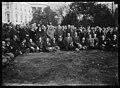 Calvin Coolidge and group outside White House, Washington, D.C. LCCN2016886949.jpg