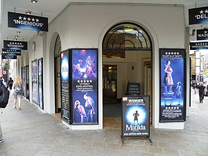 Cambridge Theatre - Entrance.
