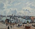 16 / l'avant-port du Havre. Matin