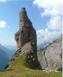 Campanile di Val Montanaia. Cimolais. ITA 2005