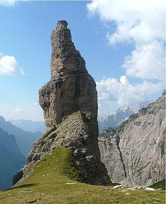 Carnic Prealps - Campanile di Val Montanaia (Dolomiti Friulane supergroup)