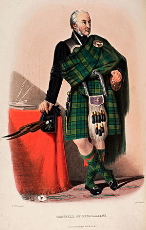 Highland dress - Campbell of Breadalbane.