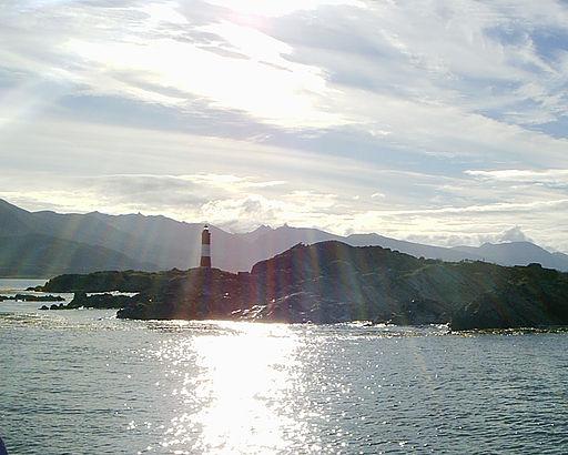 Canal de Beagle, Faro del Fin del Mundo, Tierra del Fuego, Argentina