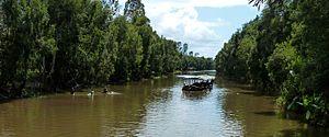 Canal des Pangalanes - Canal des Pangalanes between Nosy Varika and Mahanoro