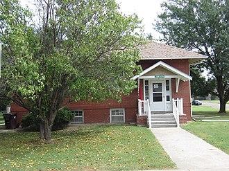 Canton, Kansas - Canton Township Carnegie Library (2013)