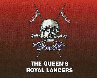 The Queen's Royal Lancers and Nottinghamshire Yeomanry Museum - Image: Cap badge of The Queen's Royal Lancers