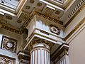 Capitell i entaulament, capella de la Comunió, església de sant Antoni, València.JPG
