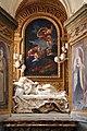 Cappella palluzzi-albertoni di giacomo mola (1622-25), con beata ludovica alberoni di bernini (1671-75) e pala del baciccio (s. anna e la vergine) 02.jpg