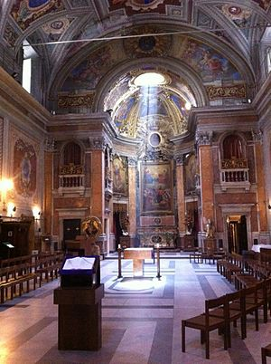 Oratory of San Francesco Saverio del Caravita - Interior of the Caravita Oratory