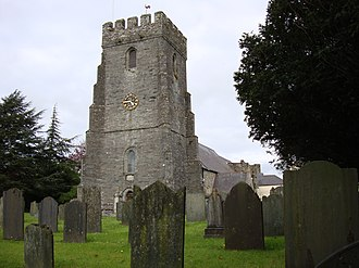 Cardigan, Ceredigion - Parish Church of St Mary