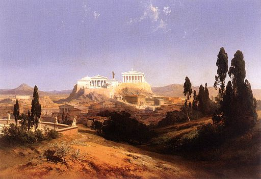 Carl Graeb - View of Athens - WGA10346
