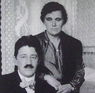 Carl Skottsberg - Carl Skottsberg with his wife Inga
