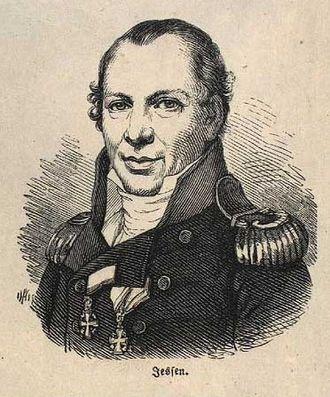 Fredensborg - Carl Wilhelm Jessen, 1800