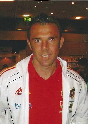 Carlos Marchena - Marchena with Spain in 2010