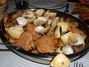 Carne de porco à alentejana - Carne de Porco à Alentejana