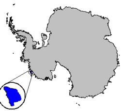 Location of Carney Island