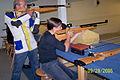 Carola Skottlund & pappa Micky skjuter luftgevär 2006.jpg