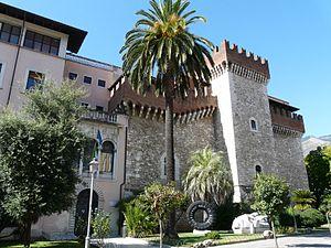 Accademia di Belle Arti di Carrara - Palazzo Cybo-Malaspina, which houses the accademia