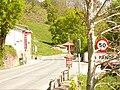 Carretera N-623 en Los Pandos (Cantabria).JPG