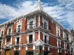 Centro hist rico de puebla wikipedia la enciclopedia libre for Casa de los azulejos centro historico