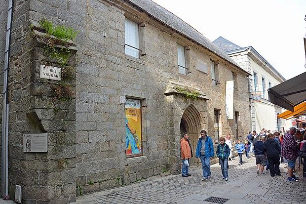 Monument historique à Concarneau