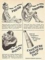 Cashmere Bouquet Talc - How to keep fresh, 1945.jpg
