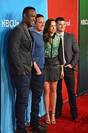 "Cast of USA's ""Sirens"" at 2015 TCA.jpg"