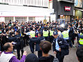 Castle Peak Road Occupy Police Force 20150301.jpg