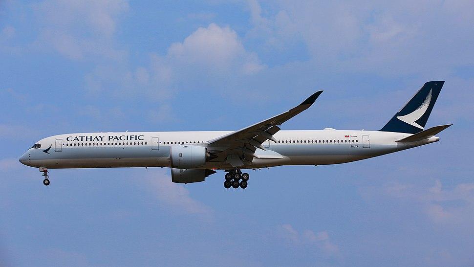Cathay Pacific A350-1000XWB B-LXA