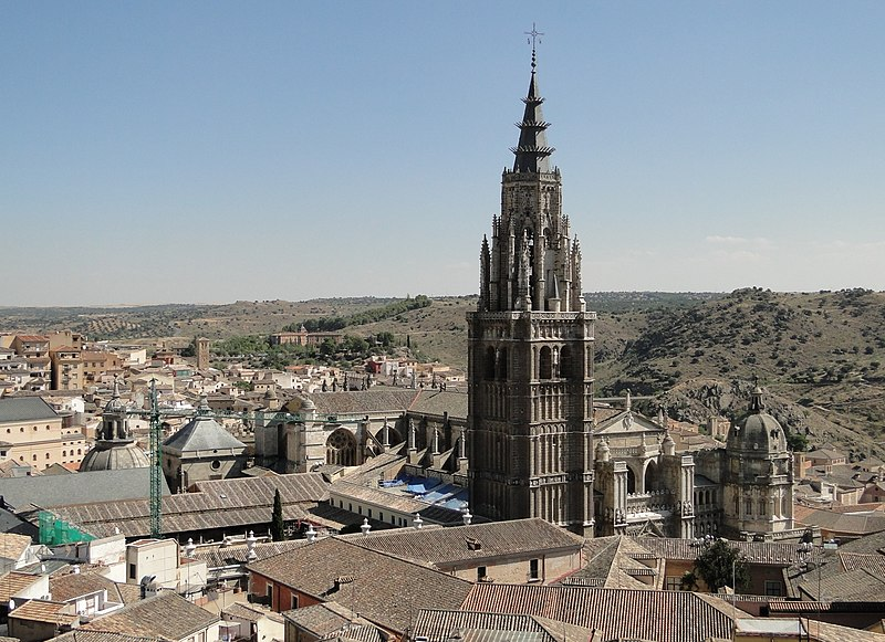 File:Cathedral of Toledo.jpg
