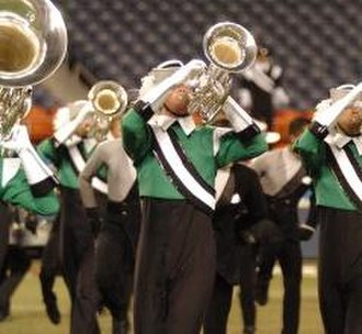 Drum Corps International - The Cavaliers, a DCI World Class member corps and seven-time DCI World Champion