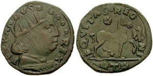 Cavallo (coin) - Cavallo of Ferdinand I of Naples.
