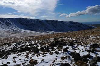 Caw Fell - Image: Caw Fell from Iron Crag