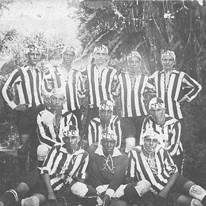 Caxias Futebol Clube - The winning team of the State Championship 1929