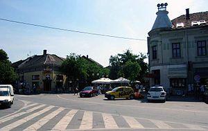 Požarevac - Image: Centar grada