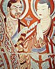 Central Asian Buddhist Monks, art work from the Second German Turfan expedition